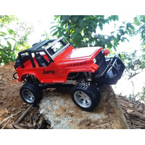Jeep 1/12 Carrinho Jipe Controle Remoto Farol Led