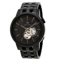 Relógio Rip Curl Detroit Automatic Midnight Black Preto 2507