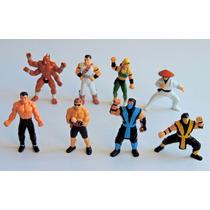 Kit Coleção Bonecos Mortal Kombat Miniatura Pvc Raridade