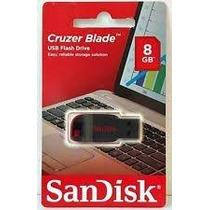 Pen Drive Sandisk 8gb Z50 Cruzer Blade Original Lacrado.
