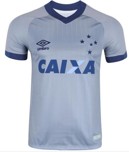 8ebff5c5d2 Camisa Cruzeiro 3 Uniforme Umbro Patch 2018 Frete Gratis