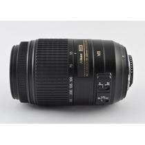 Lente Nikon Af-s Dx Nikkor 55-300mm F/4.5-5.6g Ed Vr Zoom