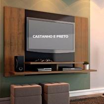 Rack P/ Tv Monaco C/ Painel 1,49m Para Tvs Até 52 Polegadas