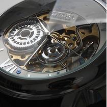 Relógio Masculino Cjiaba Russo Inox Automático Mecânico