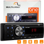 Rádio Mp3 Player Automotivo Multilaser One Usb Sd Fm Aux
