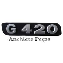 Emblema Frontal Grade G420 / Caminhão Scania Frete Grátis
