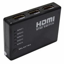 Mini Hub Dispositivo Hdmi Switch Splitter Com 6 Portas Hdmi