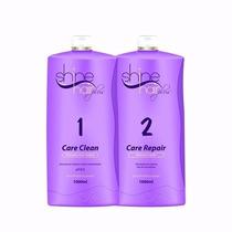 Kit Escova Progressiva Shine Hair Plus(2x1 Litro)+ Brinde