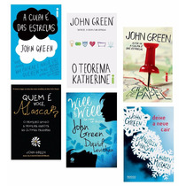 Kit Livros - Romances De John Green (6 Livros) !