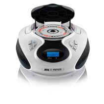 Rádio Boombox Cd/usb/sd/fm/aux 20w Rms Sp181 Bco Multilaser