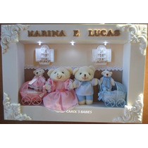 Porta Maternidade Gêmeos - P1176 !!!