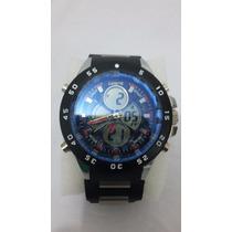 Relógio Importado Masculino Analógico E Digital Jb13