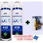 Gás Refrigerante R410a 600g - Eolo 2 Unidades + Valvula