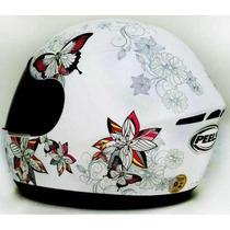 Capacete Peels Spike Butterfly Borboleta Feminino Fechado