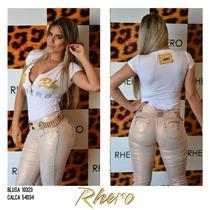 Calça Rhero Jeans Com Bojo Estilo Pit Bull Jeans!