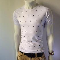 Camiseta Masculina Local Caveira - Sergio K Osklen Ellus