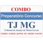 Combo Concurso Tjmg - Oficial De Apoio Judicial 2016