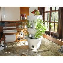 Horta Com Irrigação Vasos Para Plantas Vaso Irrigação