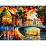 Painel Grande Tela Leonid Afremov 90x120cm Impressão Obra #3