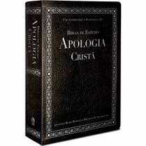 Bíblia De Estudo Apologia Cristã Preta Cpad Com Índice