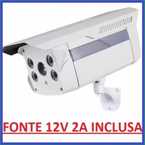 Camera Infra 80mts 100mts Sony Effio 1200l Ir Cut Leds Array