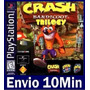 Crash Bandicoot 1 2 E 3 Ps3 Psn Digital