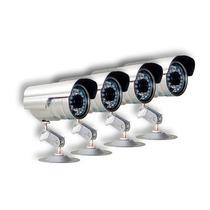 Kit 4 Cameras Seguranca Infra Ccd Digital 36 Leds 30 Mts