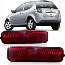Par Refletor Lanterna Parachoque Ford Ka 2011 2012 2013
