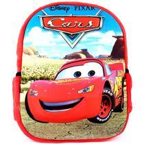Mochila Infantil Animação Carros Relâmpago Mcqueen 3d