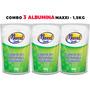 Combo 3 Albumina - 500g - Maxxi Ovos Shinoda