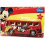 Onibus Plastico Fricção Mickey Licenciado Oficial Toying