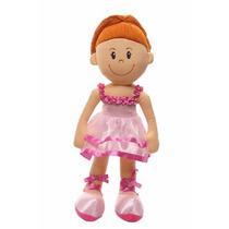 Boneca Pelúcia Tina Bailarina 55 Cm (ref: 1275)