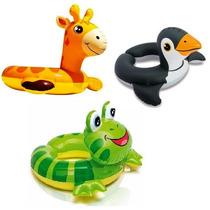 Boia De Segurança Inflável Infantil. Pinguim, Girafa Ou Sapo