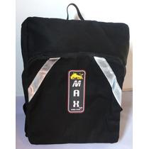 Bolsa/mochila De Lona Motoboy Reforçada - Big - Max Racing