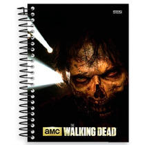 Caderno Espiral Capa Dura The Walking Dead 10 Matérias