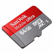 Cartão Micro Sd Sandisk 64 Gb