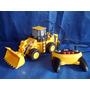 Caminhão Escavadeira Brinquedo Cat Controle Usado C/ Defeito