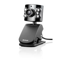 Webcam Multilaser Wc040 C/ Microfone Usb - Led