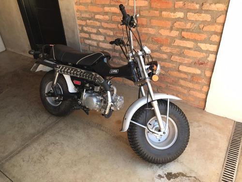 MOTO DROP RETROLINE T-REX 125CC PRETO