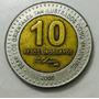 Moeda Uruguai 10 Pesos Uruguaios - 2000 1764 1850