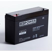 Bateria Selada 6v 12ah Moto E Carrinho Elétrico