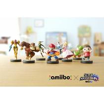 Amiibo Japonês Super Smash Bros Wii U New 3ds Frete Grátis!!