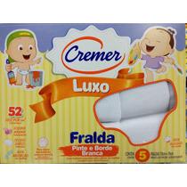 Fralda Luxo Cremer Pinte E Borde Branca Cx Com 5 Fraldas