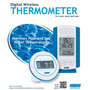 Termometro Para Piscina Sem Fio Digital