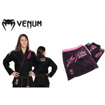 Kimono Venum Challenger 2.0 Feminino Bjj Gi Black