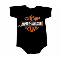 Body Harley Davidson Infantil Personalizado