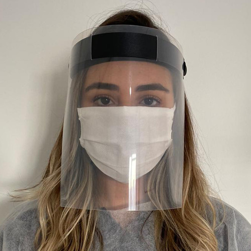 Máscara Face Shield - Protetor Facial - Proteção Do Rosto