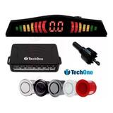 Sensor Estacionamento Ré 4 Sensores Display Cores Tech One