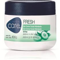 Avon Care Fresh Pepino E Cha Verde Oil Free 100grs