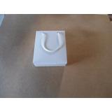100 Sacolas, Sacolinhas Lembrancinha Papel Branco (12x5x14)